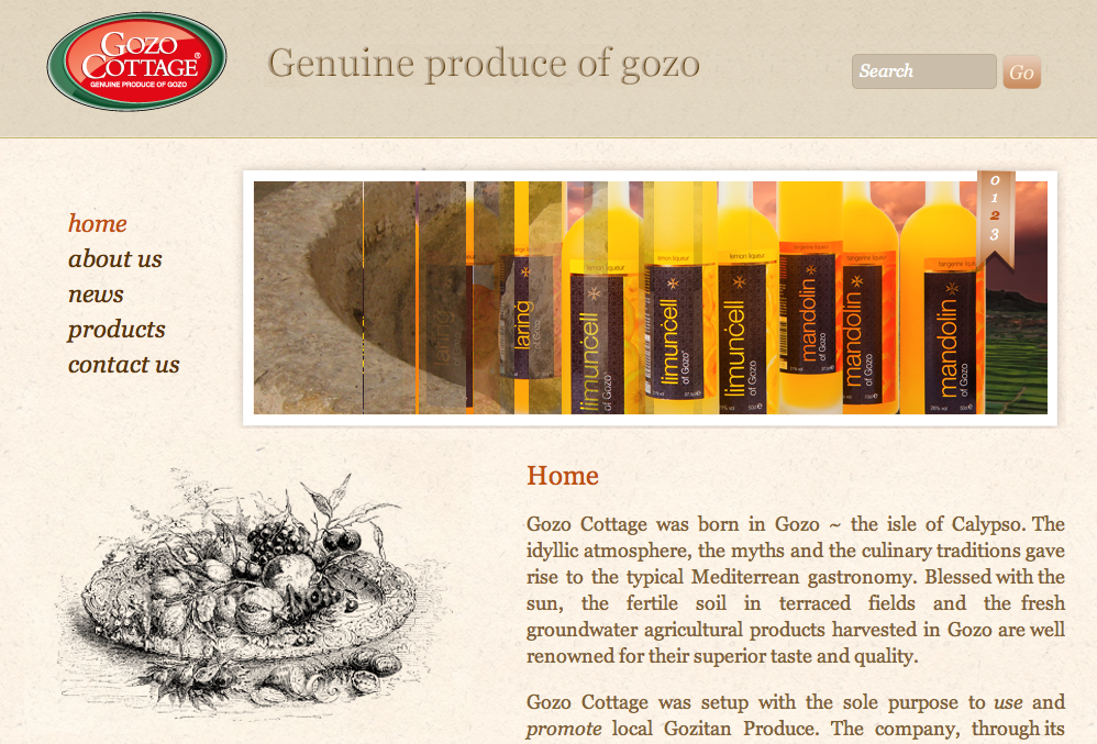 Gozo Cottage - new website